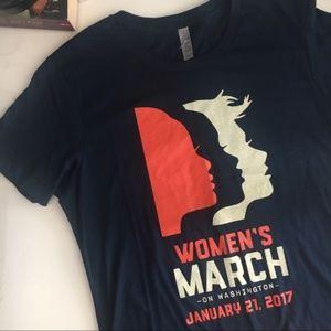 Woman's March On Washington Next Level T-Shirt